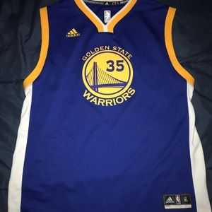 Golden State Warriors jersey- Durant 35